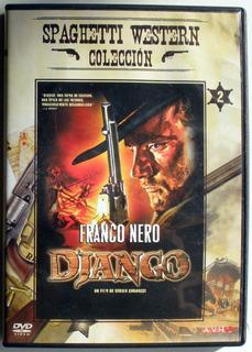 Dvd - Django - Franco Nero - Spaghetti Western Colleccion