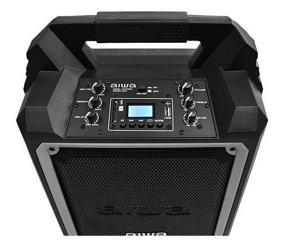 Amplificador Para Karaoke Aiwa Bluetooth Usb Tienda Física