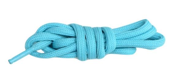 Cadarço Tênis Masculino Azul Claro Chuteira Medida 1,20