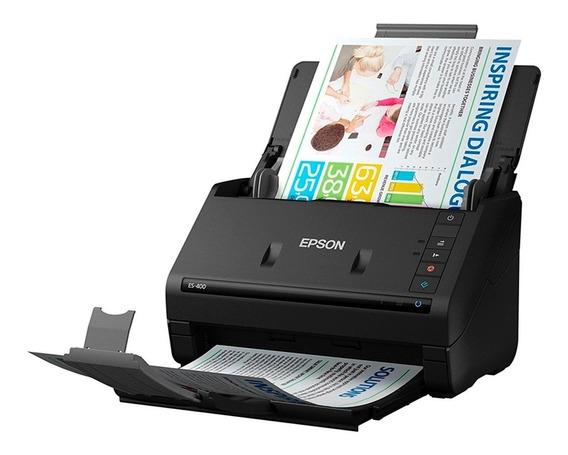 Scanner Epson Workforce Es-400 Frente Verso, Colorido C/nf