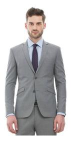 Terno Masculino Slim Fit (blazer+calça) Microfibra Luxury