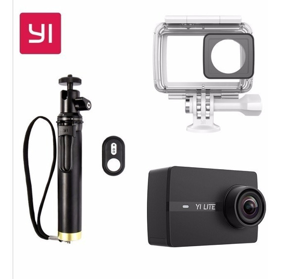 Camera Xiaomi Yi Lite 4k 16mp Original Com Acessorios