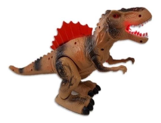 Dinosaurio De Juguete Con Luz Sonido Y Movimiento Rex
