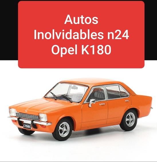 Autos Inolvidables N24 Opel K180 Nuevo Cerrado