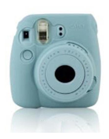 Mini8 Câmara Polaroid Azul De Silicone Concha Protectora