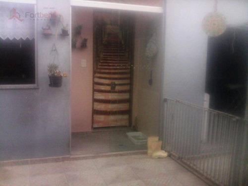 Casa Com 4 Dormitórios À Venda, 275 M² Por R$ 1.300.000,00 - Parque Continental - São Paulo/sp - Ca0127