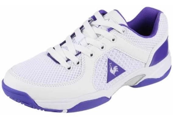 Zapatilla Le Coq Sportif Areta Tenis Blanco/violeta