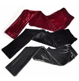 Calça Feminina Veludo Molhado Cintura Alta - Promoção