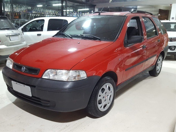 Fiat Palio Weekend 1.8 Ex Vermelha Gasolina 4p Manual 2004