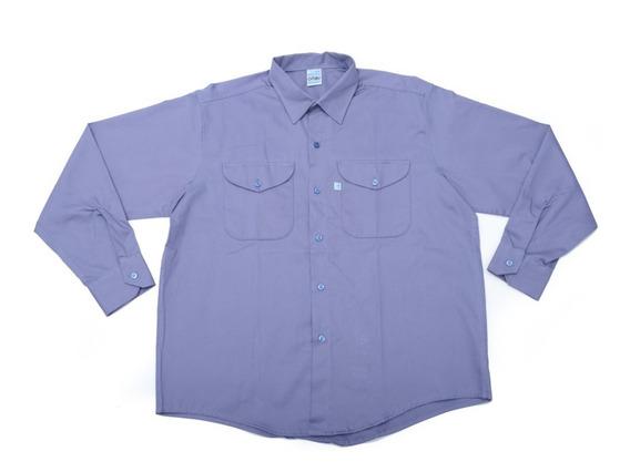 Kit Ropa De Trabajo Ombu Camisa Pantalon Zapato Ozono