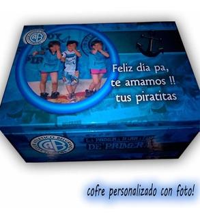 Cofre Personalizado Con Foto. (15x15x10)
