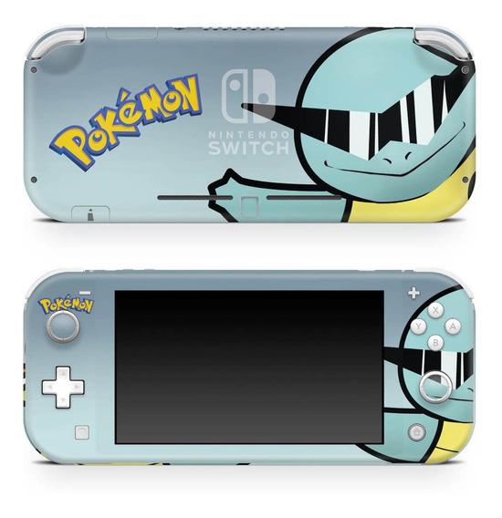 Skin Nintendo Switch Lite Adesivo Pokémon Squirtle