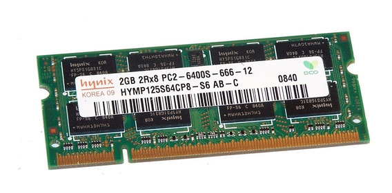 Memória 2gb Ddr2 Notebook Samsung Kingston Dell Pc2-6400 800