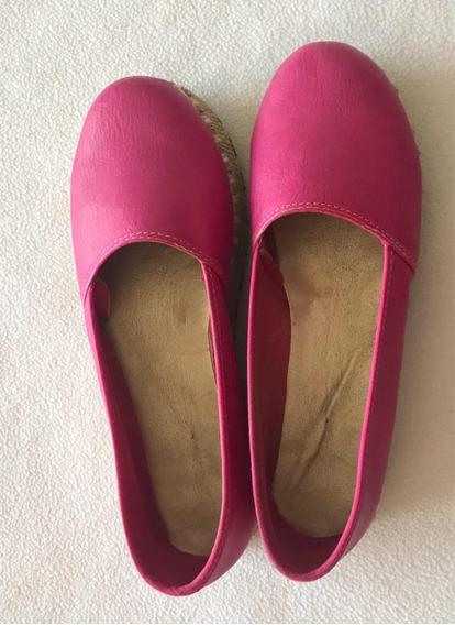 Zapatos Fuccia Plantilla 25 Cms Impecables