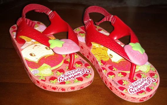 Chinelo Ipanema Kids Strawberry Shortcake Rosa - 22