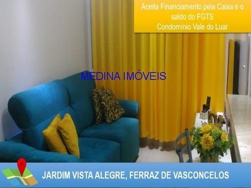 Imagem 1 de 10 de Apartamento A Venda Em Ferraz De Vasconcelos - Ap00169 - 32324494
