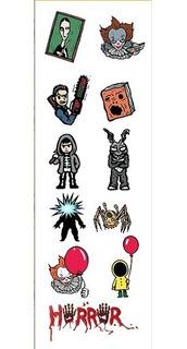 Plancha De Stickers De Peliculas Terror It Necronomicon Thin