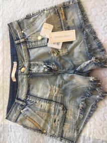 Morena Rosa Shorts Jeans Curto 40 Original