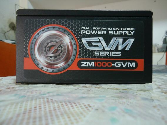 Fonte Atx Zalman 1000w 80 Plus Bronze Modula Zm1000-gvm 100%