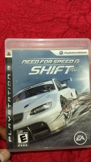 Need For Speed Shift - Mídia Física / Ps3