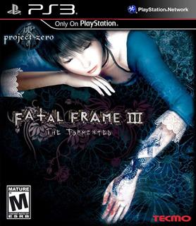 Fatal Frame® Iii: The Tormented Ps3 Digital (no Disco)