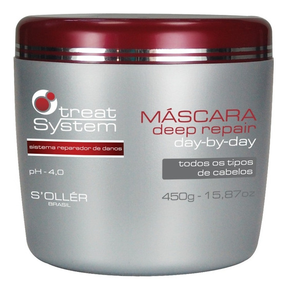 Mascara Deep Repair T.system 450g