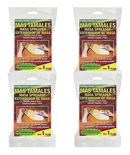 Tamales Masa Spreader - Paquete De 4