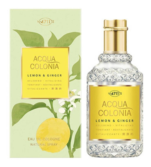 Colonia Alemã 4711 - Lemon & Ginger 50ml