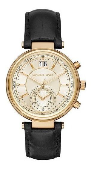 Relógio Michael Kors Feminino Cronógrafo Mk2433/2dn