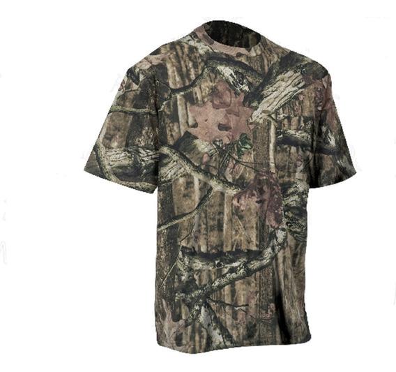 Camiseta Camo Manga Corta Caceria,pesca O Campo