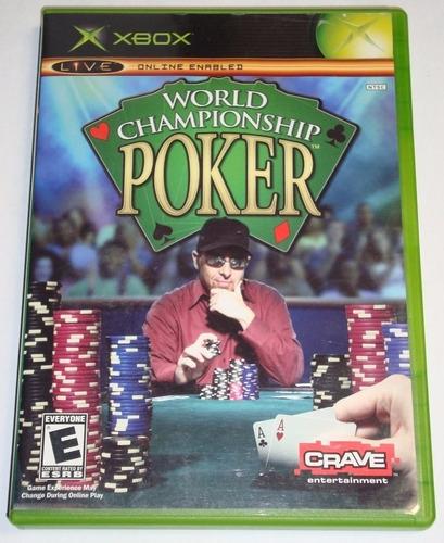 Juego Original Poker Xbox Disco Usado Ntsc Consola Oferta