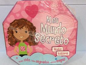 Meu Mundo Secreto Livro Jogo Editora Dcl