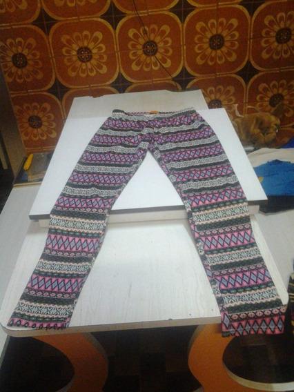 Pantalones Leggins Estampados Talla 10