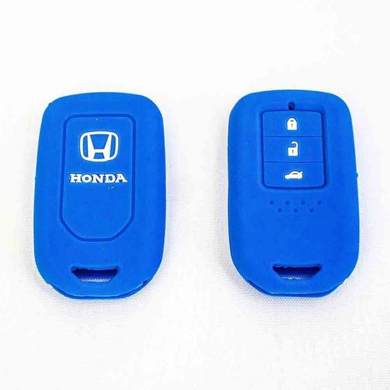 Capa De Silicone P/ Chave - Honda Civic, City, Crv, Hrv, Fit