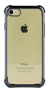Capa Capinha Frente E Verso 360 iPhone 6s Plus Chumbo Cinza