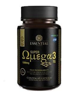 Super Ômega 3 Tg - 60 Cápsulas De 1g - Essential Nutrition