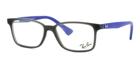 Ray-ban Junior Ry1572l 3786 49 - Cinza/azul