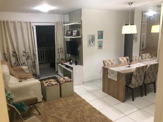 Apartamento Em Calhau, São Luís/ma De 74m² 3 Quartos Para Locação R$ 2.500,00/mes - Ap224435