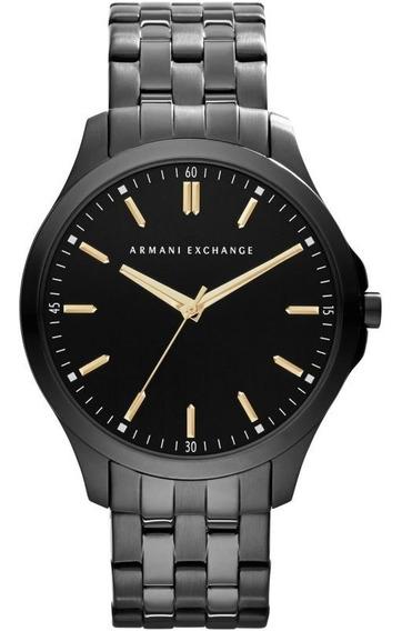 Relógio Masculino Armani Exchange Ax2144 Preto Original