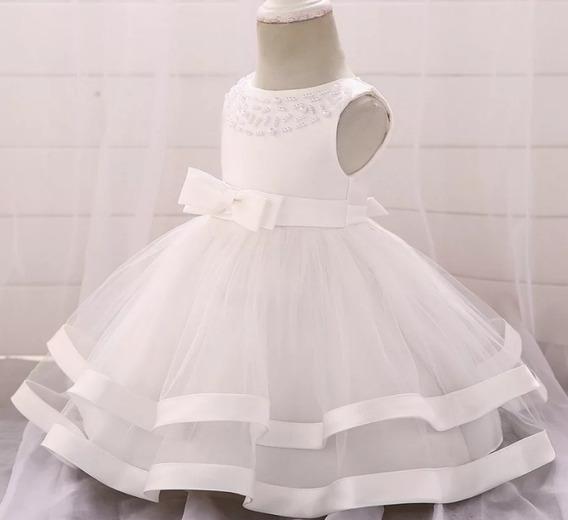 Vestido Para Bebe Bautizo Vestuario Y Calzado En Mercado