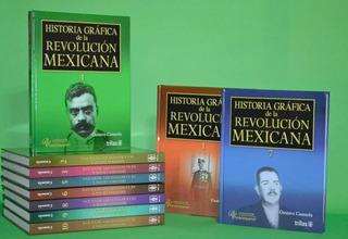 Libro De Historia Gráfica De La Revolución Mexicana 10 Tomos