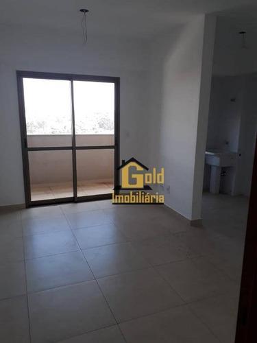 Apartamento Com 1 Dormitório À Venda, 45 M² Por R$ 230.000 - Jardim Califórnia - Ribeirão Preto/sp - Ap2168