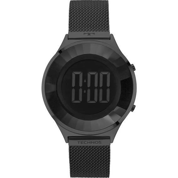 Relógio Technos Feminino Elegance Bj3572ab/4p Digital.
