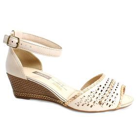 Sandália Dakota Transada Anabela Rosê Feminina Z4281