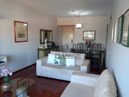 Imagem 1 de 30 de Apartamento Com 3 Dormitórios À Venda, 120 M² Por R$ 490.000,00 - Chácara Da Barra - Campinas/sp - Ap17817