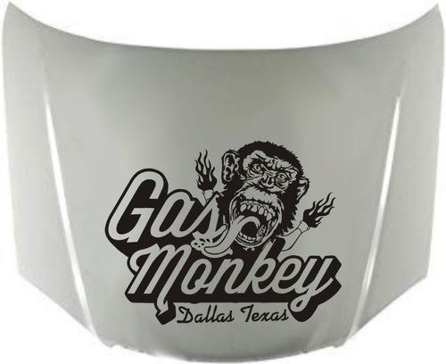 Calco Gas Monkey Para Capot 03 Calcomanias Graficastuning 00046