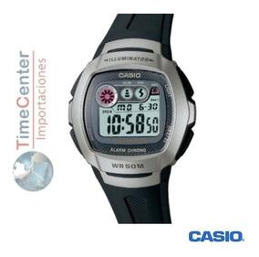 Reloj Casio,deportivo, Hombre, Resistente Al Agua.w-210-1av