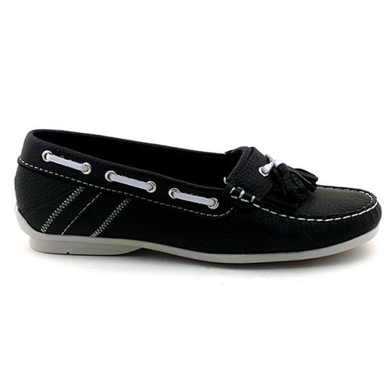 Mocasín Mujer Cuero Briganti Zapato Chatita - Mcmo03594