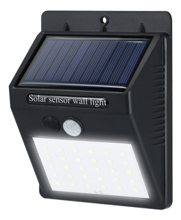 Led Solar Powerd Pir Sensor De Movimento Da Parede Dim Light