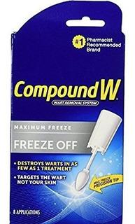 Compuesto W Freeze Off Removedor De Verrugas-8 Aplicaciones
